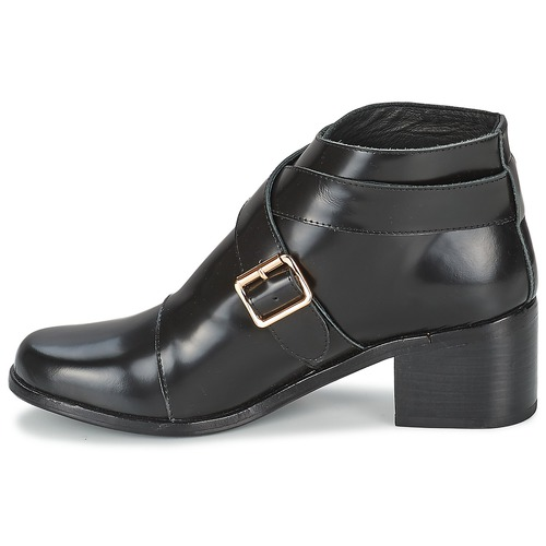 F-Troupe Double Buckle Boot Schwarz  144,80 Schuhe Low Boots Damen 144,80  9b0f2c