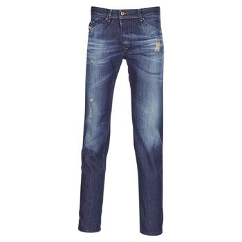 Kleidung Herren Straight Leg Jeans Diesel DARRON Blau