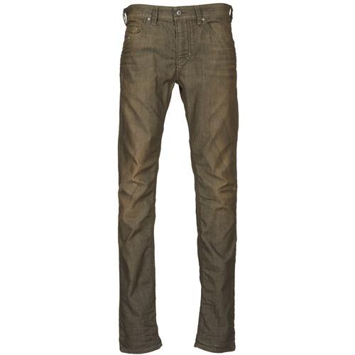 Kleidung Herren Slim Fit Jeans Diesel THAVAR Kaki