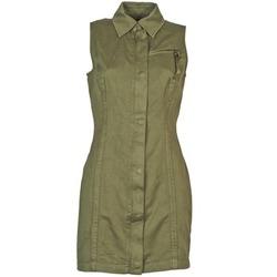 Kleidung Damen Kurze Kleider Diesel D-NAOMIE Kaki