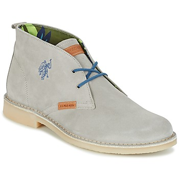 Schuhe Herren Boots U.S Polo Assn. AMADEUS Grau