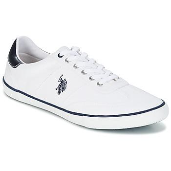 Schuhe Herren Sneaker Low U.S Polo Assn. RAY Weiss