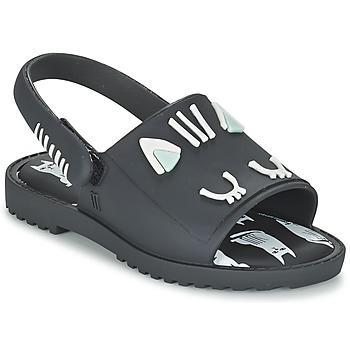 Schuhe Mädchen Sandalen / Sandaletten Melissa MIA FABULA Schwarz