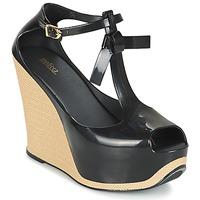 Schuhe Damen Sandalen / Sandaletten Melissa PEACE VI Schwarz / Beige