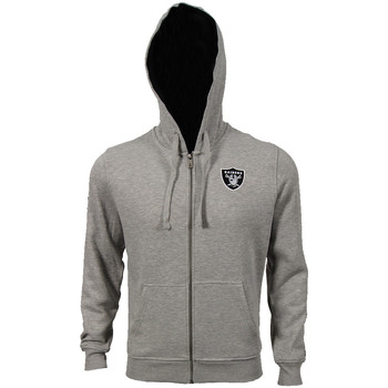 Kleidung Herren Trainingsjacken New Era NFL FZ Hoody Oakland Raiders Grau