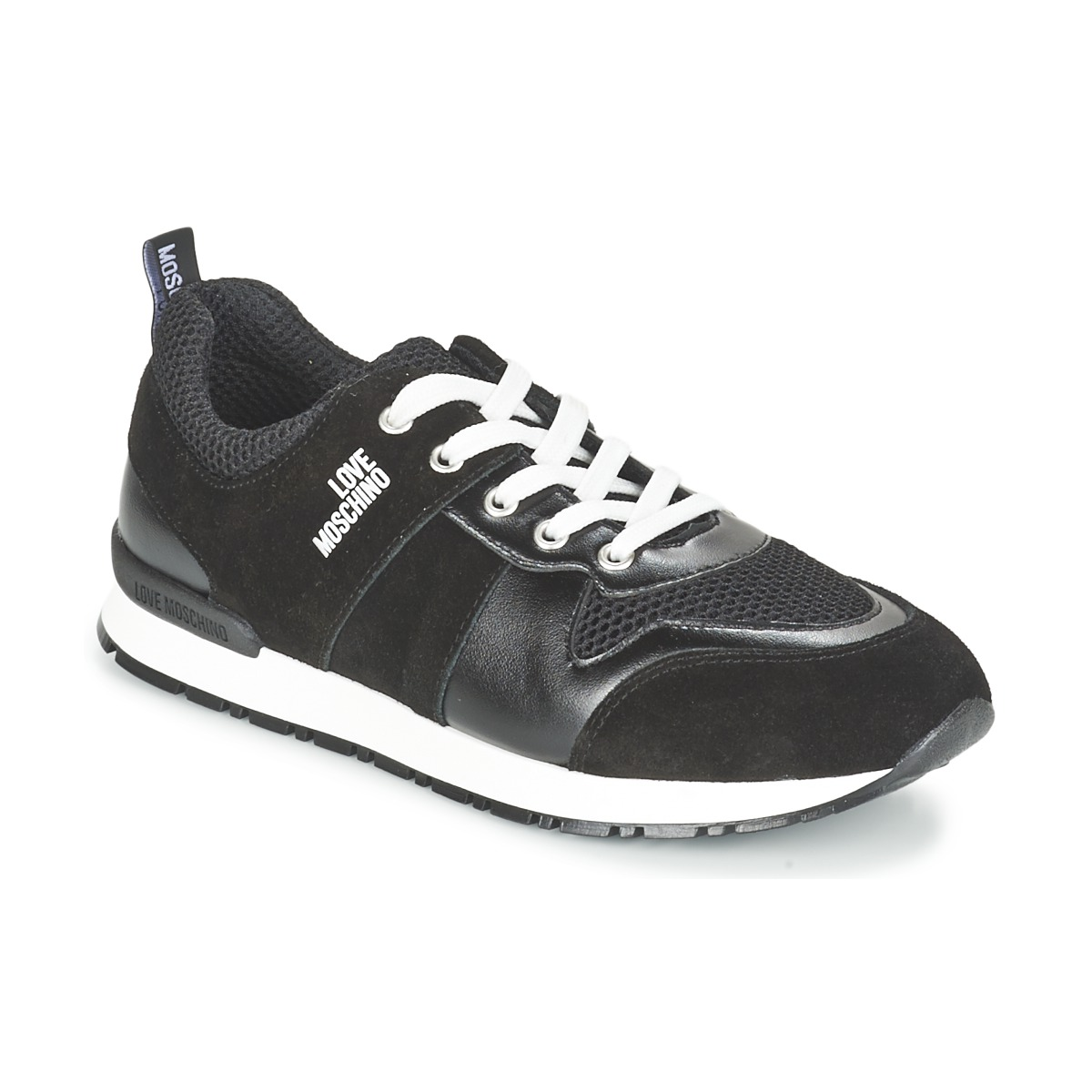 Love Moschino JA15062G13 Schwarz - Kostenloser Versand bei Spartoode ! -  Schuhe Sneaker Low Damen 119 d809237b06
