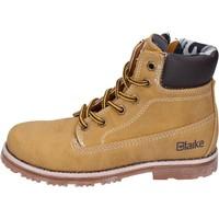 Schuhe Jungen Boots Blaike schuhe bambino  stiefeletten gelb leder AH151 gelb