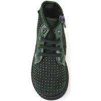 Schuhe Mädchen Low Boots Didiblu DIDIblau stiefeletten grün wildleder AJ952 grün