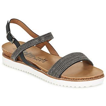 Schuhe Damen Sandalen / Sandaletten Xti POUS Schwarz