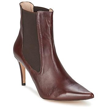 Schuhe Damen Low Boots Alba Moda PIMTY Braun