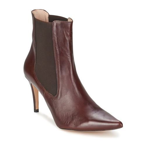 Alba Moda PIMTY Braun Schuhe Low Boots Damen 100