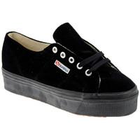 Schuhe Damen Sneaker Low Superga 2790 Velvet turnschuhe