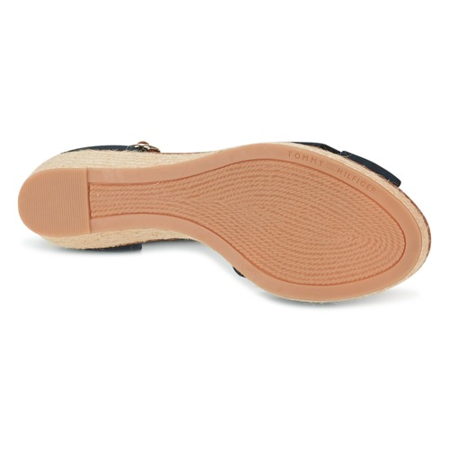 Tommy Hilfiger ELBA 40D Marine / Braun  Schuhe Sandalen / Sandaletten Damen 71,92