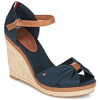 Schuhe Damen Sandalen / Sandaletten Tommy Hilfiger ELENA 56D Marine / Braun