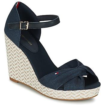 Schuhe Damen Sandalen / Sandaletten Tommy Hilfiger ELENA 3DI Marine