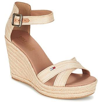 Schuhe Damen Sandalen / Sandaletten Tommy Hilfiger LUNA IDI Gold