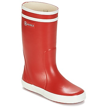 Stiefel Aigle LOLLY-POP Rot / Weiss 350x350