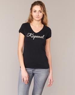 Kleidung Damen T-Shirts Kaporal NIAM Schwarz