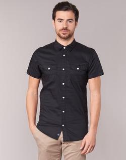 Kleidung Herren Kurzärmelige Hemden Kaporal RAC Schwarz