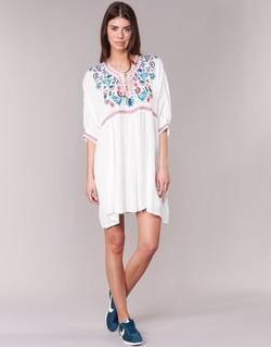Kleidung Damen Kurze Kleider Billabong MYSTIC DRESS Naturfarben