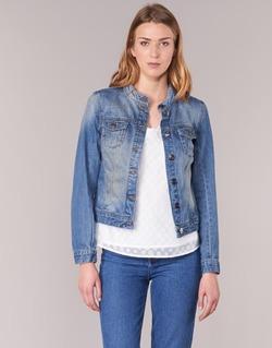 Kleidung Damen Jeansjacken DDP DASTIONA Blau