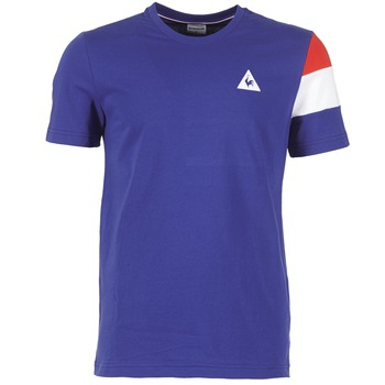 Kleidung Herren T-Shirts Le Coq Sportif BLUREA Blau