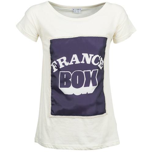 T-Shirts & Poloshirts Kling WARHOL Weiss 350x350