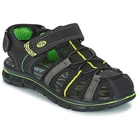Schuhe Jungen Sandalen / Sandaletten Primigi TEVEZ Schwarz / Grün