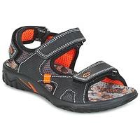 Schuhe Jungen Sandalen / Sandaletten Primigi PACIFIC Schwarz