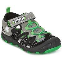 Schuhe Jungen Sandalen / Sandaletten Primigi CROSS Schwarz / Grün