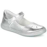 Schuhe Mädchen Ballerinas Primigi CLEMENCE-E Silbern