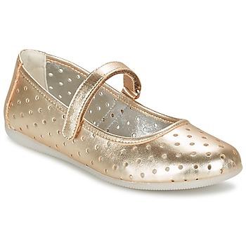Schuhe Mädchen Ballerinas Primigi FANTASY FLAT Goldfarben