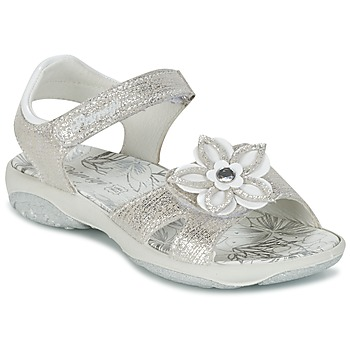 Schuhe Mädchen Sandalen / Sandaletten Primigi BREEZOU Silbern