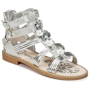 Schuhe Mädchen Sandalen / Sandaletten Primigi FANTAYS Silbern
