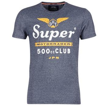 Kleidung Herren T-Shirts Superdry 500 CLUB MOTORRADER Grau