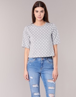 Kleidung Damen T-Shirts Compania Fantastica EPOITATI Grau / Weiss