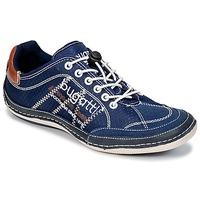 Schuhe Herren Sneaker Low Bugatti LAMETE Marine