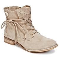 Schuhe Damen Boots Bugatti REGATE Beige