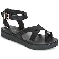 Schuhe Damen Sandalen / Sandaletten Bugatti VENATE Schwarz