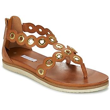Schuhe Damen Sandalen / Sandaletten Bugatti BRETE Cognac