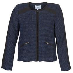 Kleidung Damen Jacken / Blazers Suncoo DANAELLE Blau