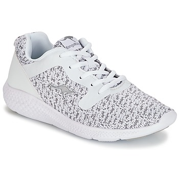 Schuhe Damen Sneaker Low Kangaroos KV 2 Weiss / Grau