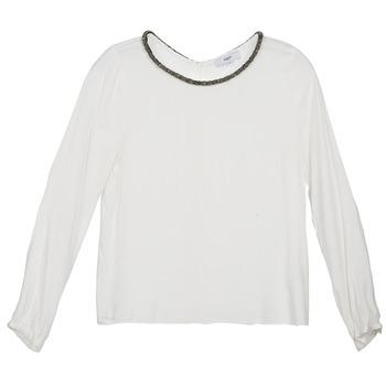 Kleidung Damen Tops / Blusen Suncoo LUCIA Naturfarben