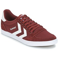 Schuhe Sneaker Low Hummel STADIL CANEVAS LOW Bordeaux