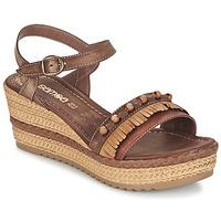 Schuhe Damen Sandalen / Sandaletten Samoa MOLAY Braun