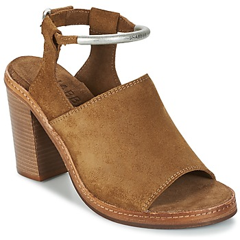 Schuhe Damen Sandalen / Sandaletten Shabbies MARZIO Braun