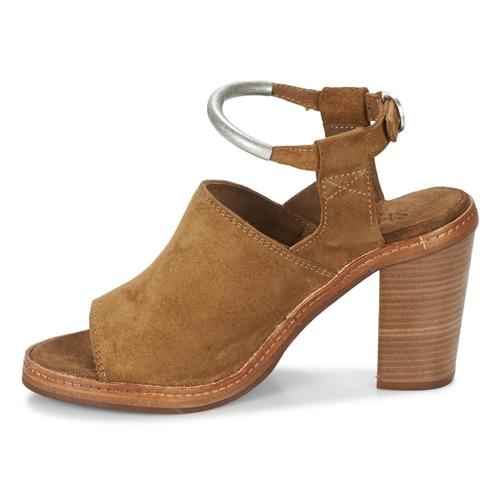 Shabbies MARZIO Braun  Schuhe Sandalen / Sandaletten Damen 175,96