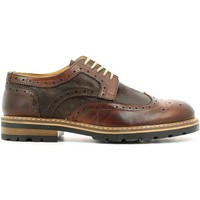 Schuhe Herren Slipper Rogers 188 Lace-up heels Man Legno Legno