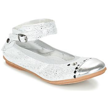 Schuhe Mädchen Ballerinas Ikks EMILY Silbern