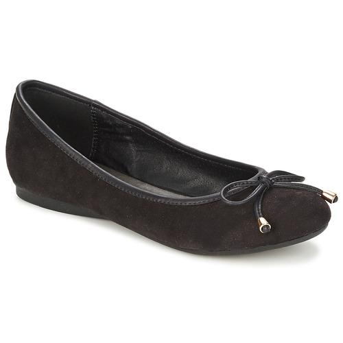 Schuhe Damen Ballerinas Moony Mood LIESA Schwarz